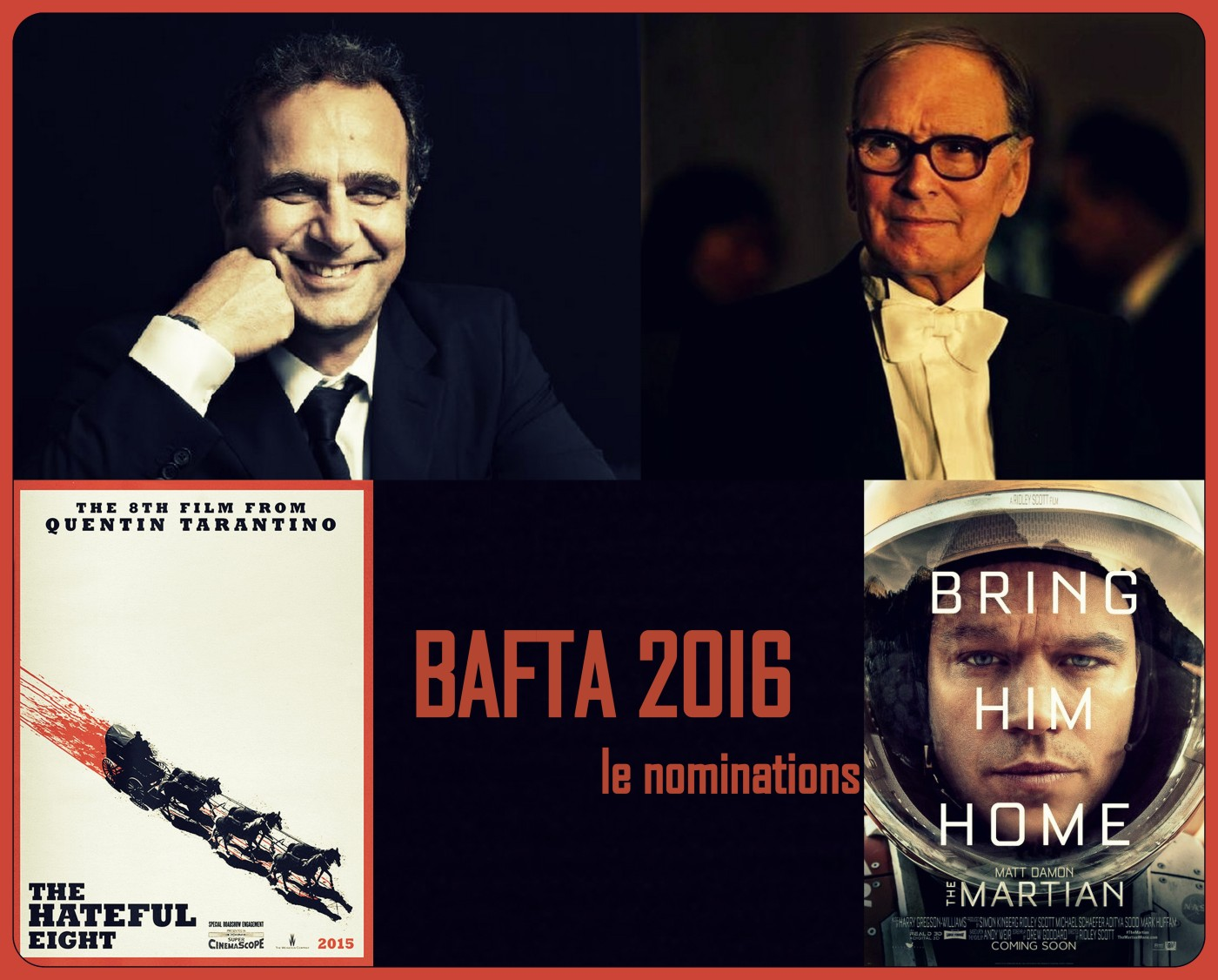 Bafta Awards: Bafta 20I6, Due Italiani Candidati Agli Oscar Inglesi