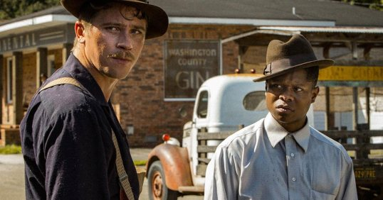 Garrett Hedlund and Jason Mitchell appear in Mudbound by Dee Rees, an official selection of the Premieres program at the 2017 Sundance Film Festival. Courtesy of Sundance Institute |photo by Steve Dietl.