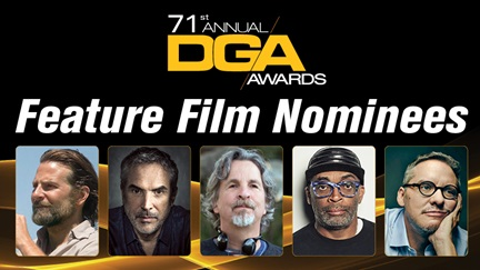 dgaawards71stfeaturefilmnominees