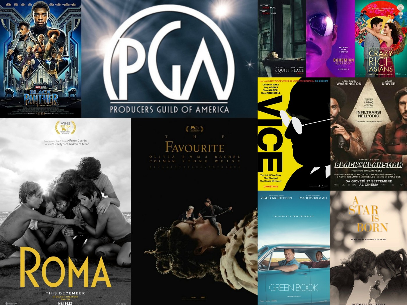 Producers Guild of America Awards 2019, Roma, A star is born