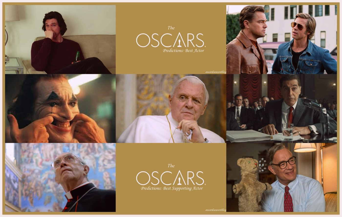 Best Actor Oscars 2020.Oscars 2020 Gli Attori Piu Quotati Per Le Categorie Best