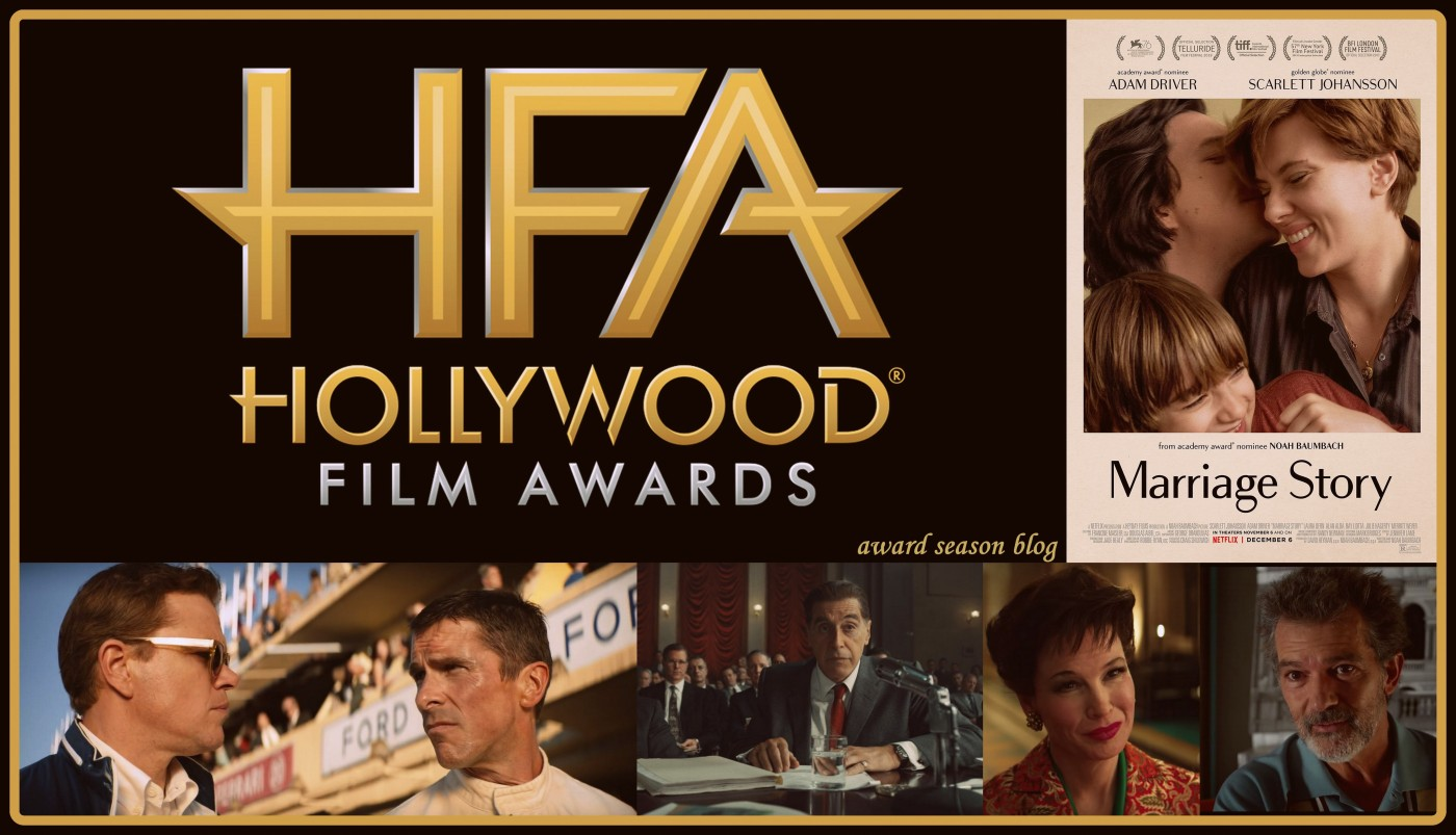 Agli Hollywood Awards The Irishman e Le Mans 66' iniziano la corsa verso gli Oscars 2020