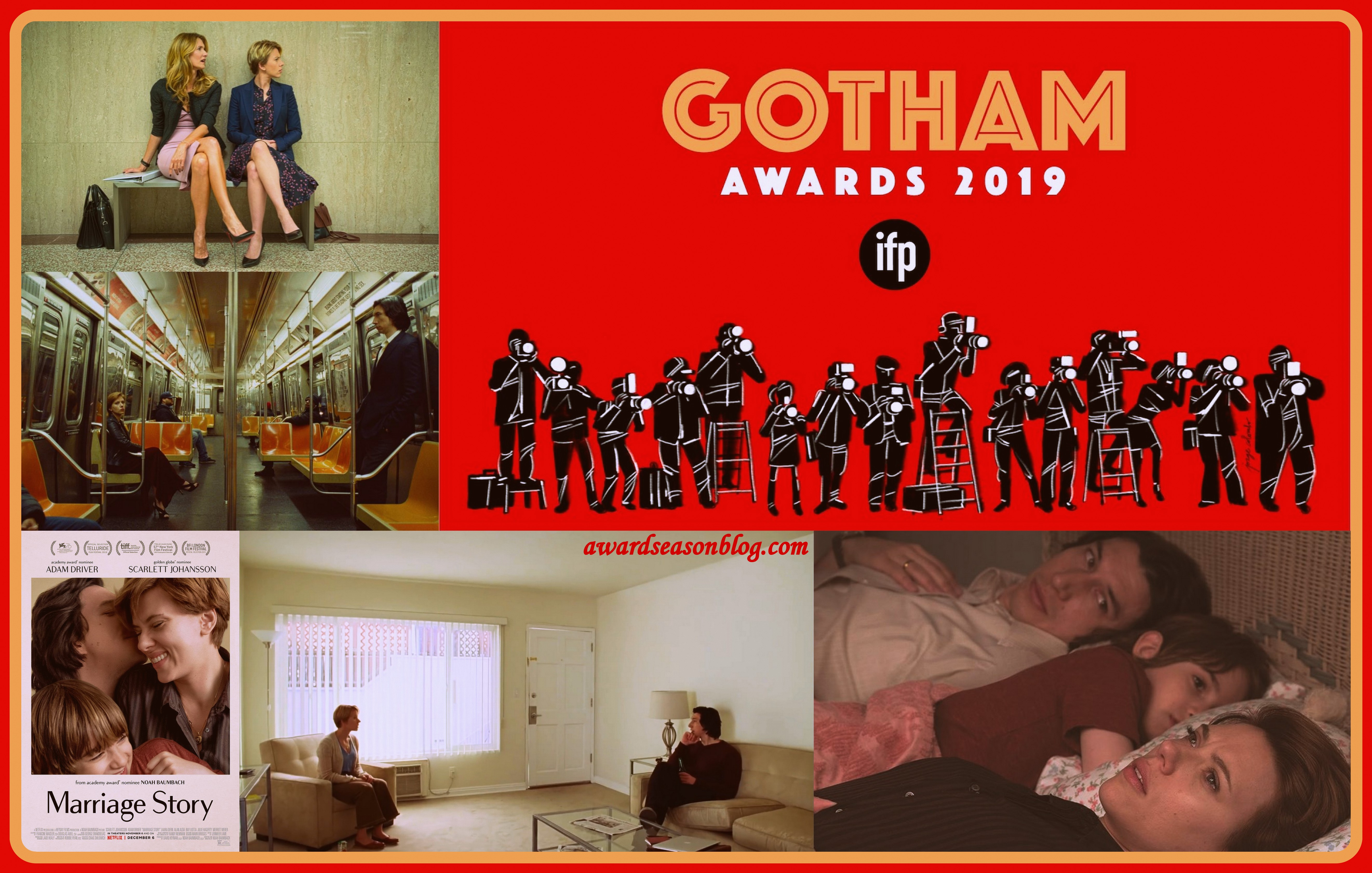 Marriage Story wins Gotham Awards 2019