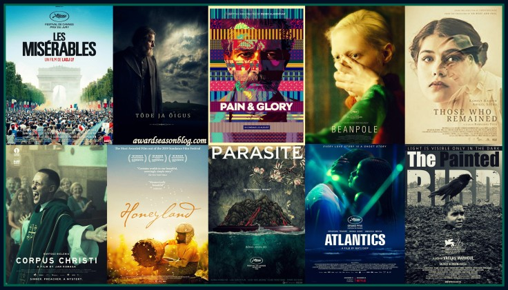 Shortlist Oscars 2020 Best International Feature Film