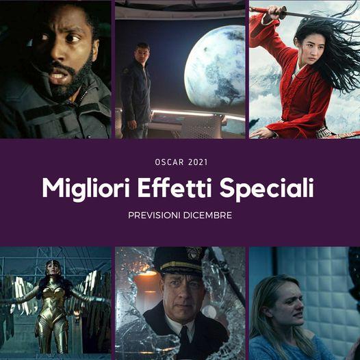 Oscar 2021 migliori effetti speciali