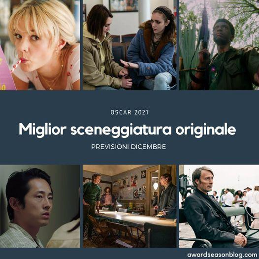 Oscar 2021 miglior oscar sceneggiatura previsioni
