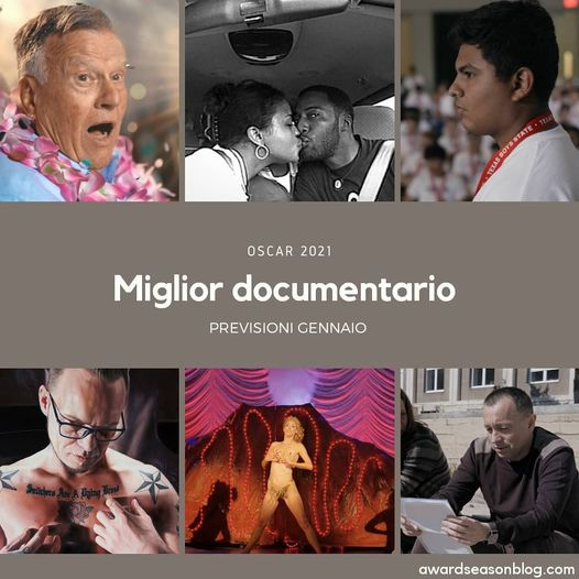 miglior documentario predictions Oscar 2021