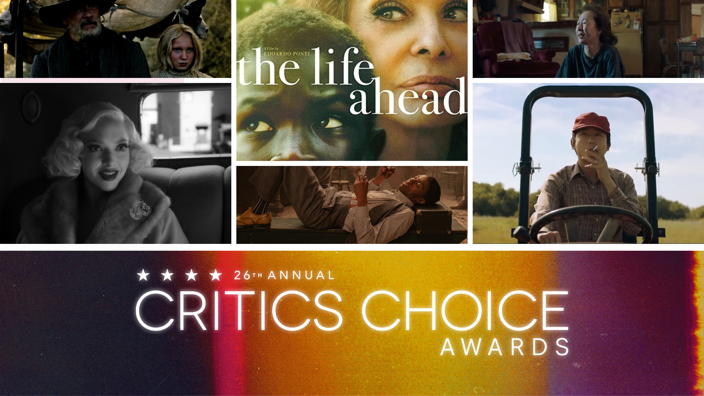 Nominations Critics Choice Awards 2021