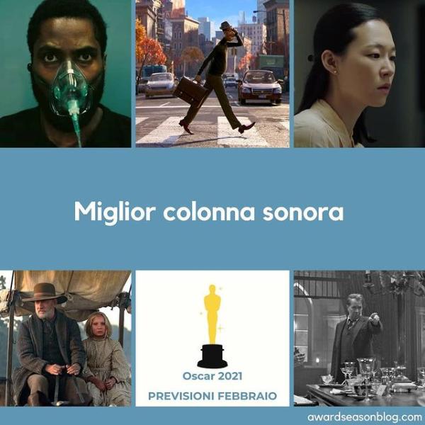 Previsioni Oscar 2021 Miglior colonna sonora
