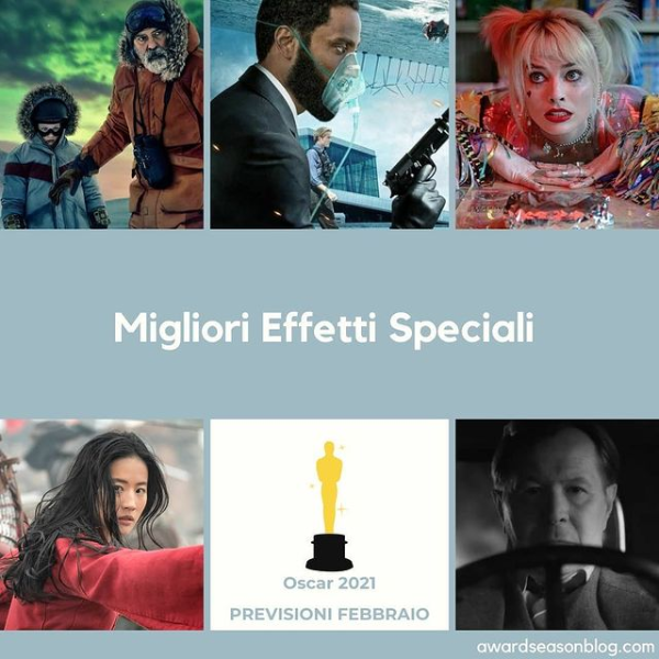 Best Visual Effects Oscars 2021 Predictions