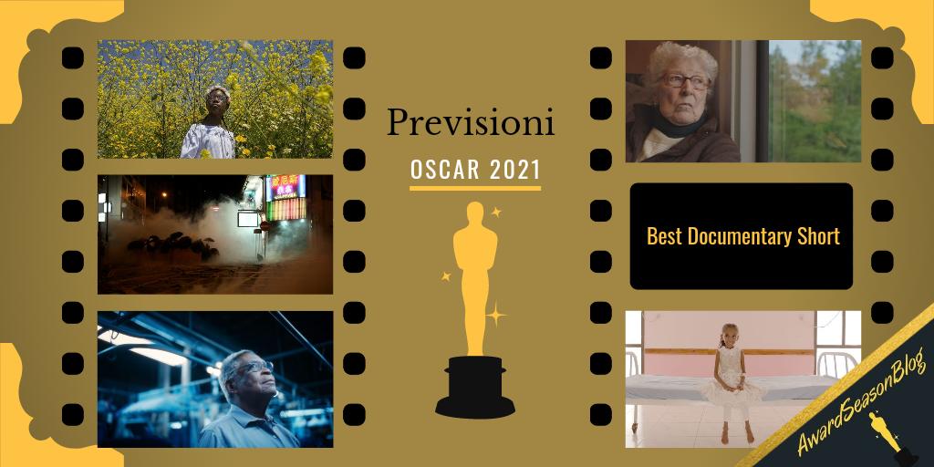 Previsioni Oscar 2021 Miglior cortometraggio documentario