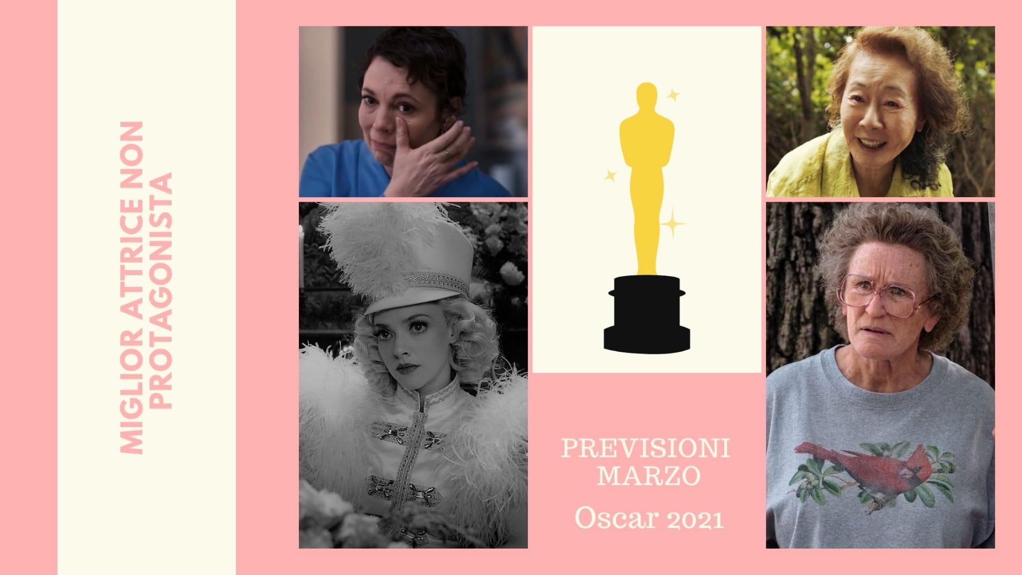 Previsioni Oscar 2021 Miglior attrice non protagonista