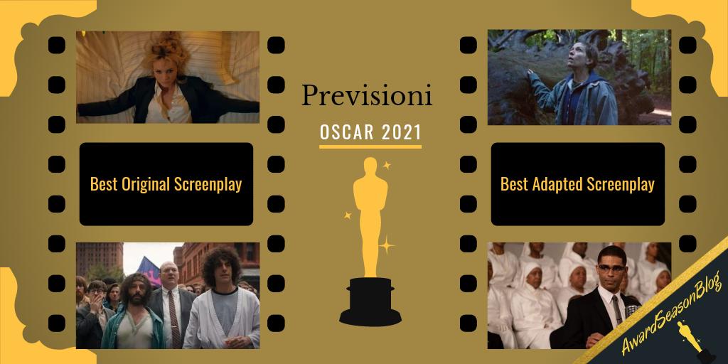 Miglior sceneggiatura Oscar 2021 Previsioni