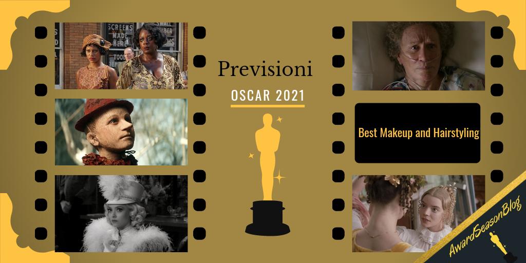 Previsioni Oscar 2021 Miglior Trucco e Parrucco