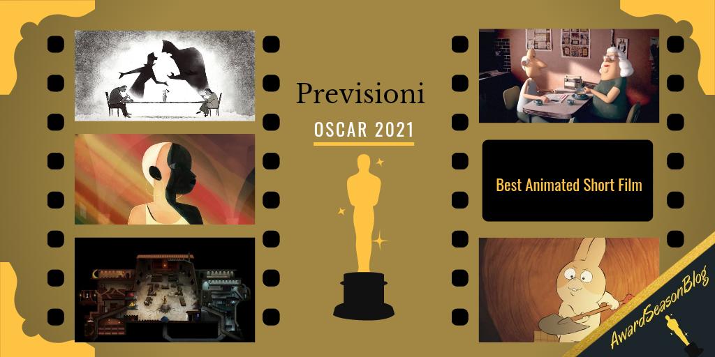 Previsioni Oscar 2021 Miglior cortometraggio d'animazione