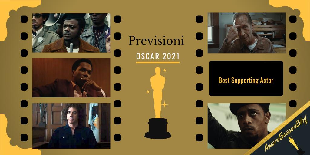 Previsioni Oscar 2021 Miglior Attore non protagonista