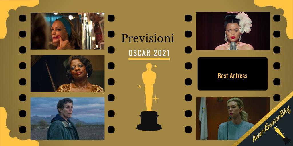 Previsioni Oscar 2021 Miglior Attrice