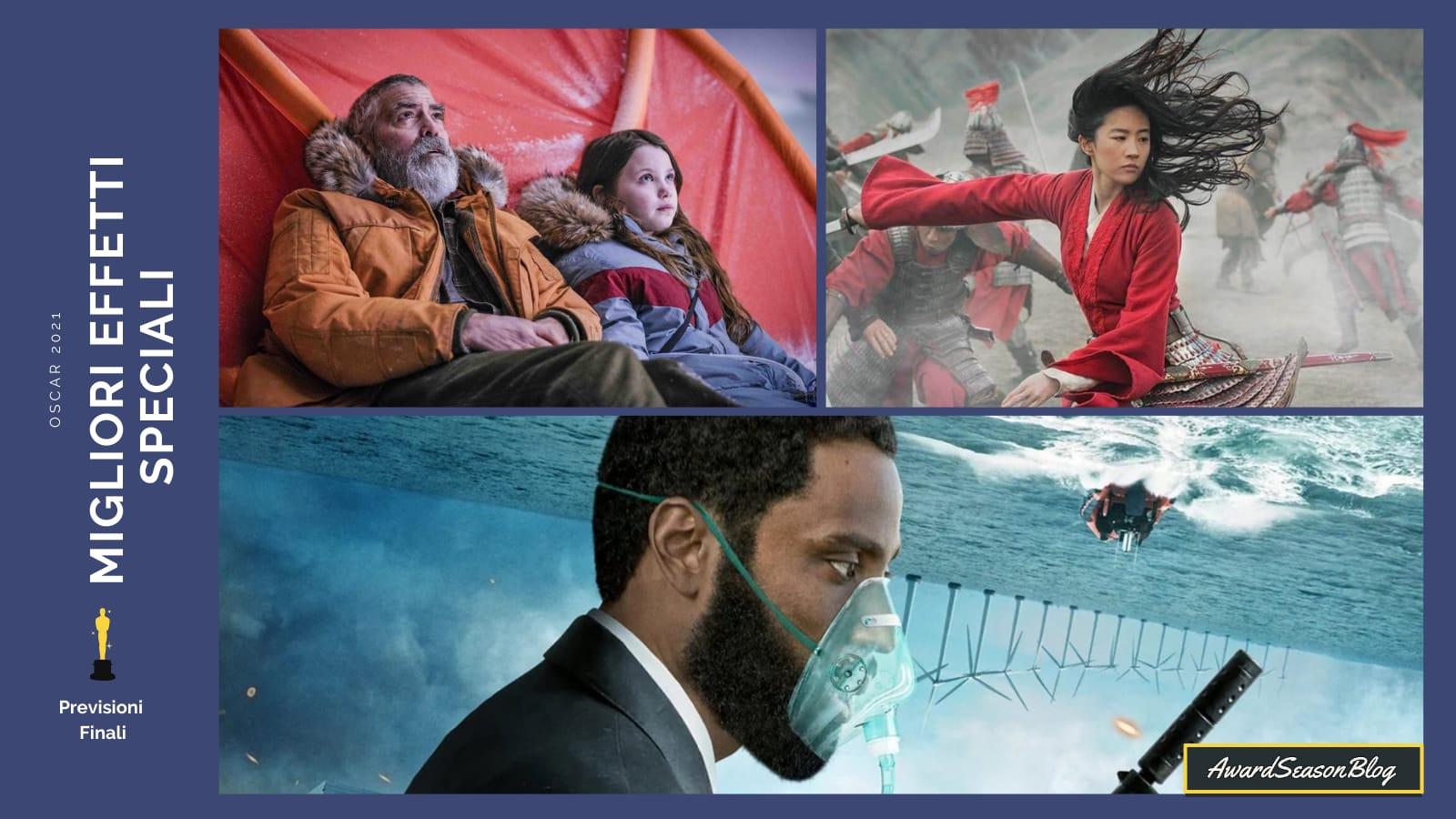 Previsioni Oscar 2021 Migliori Effetti Speciali