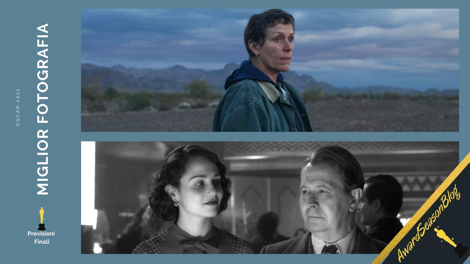 Previsioni Oscar 2021 Miglior fotografia